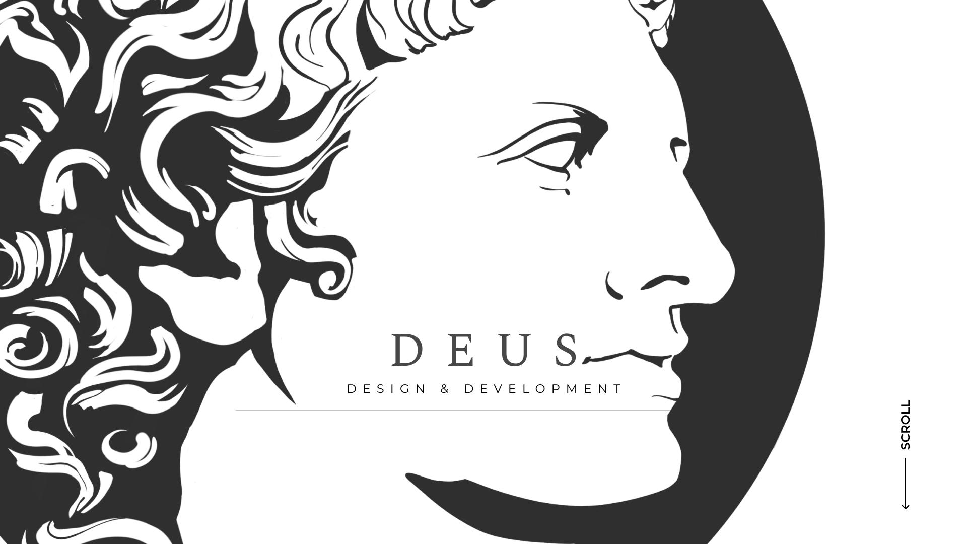 Разработка дизайн-проекта для сайта веб-агенства DEUS